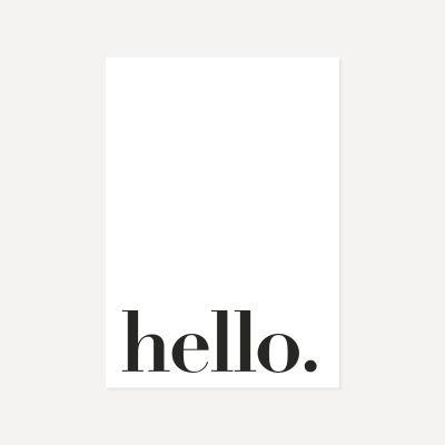 Hello | Poster