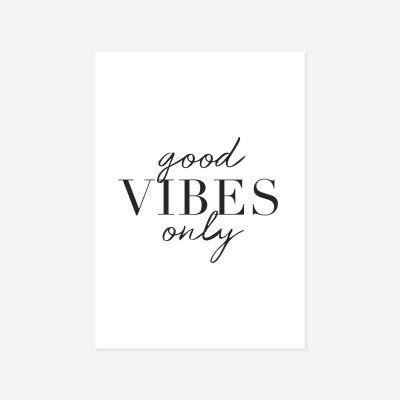 Good Vibes Only | Poster