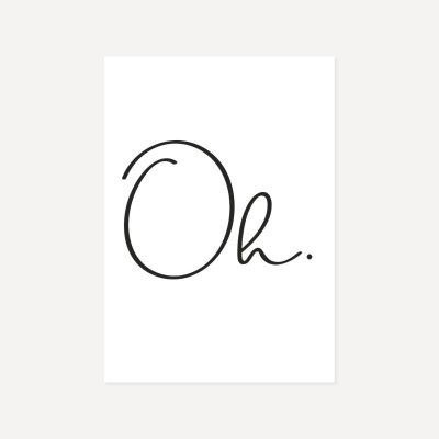 Oh | Poster