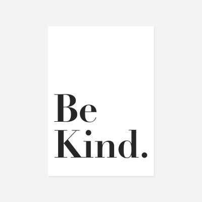 Be Kind | Poster
